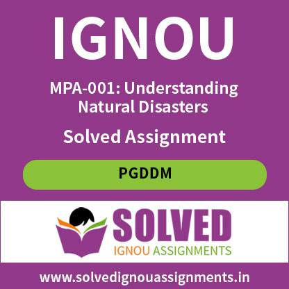 IGNOU MPA 1 Solved assignment