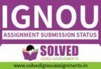 IGNOU Assignment Status